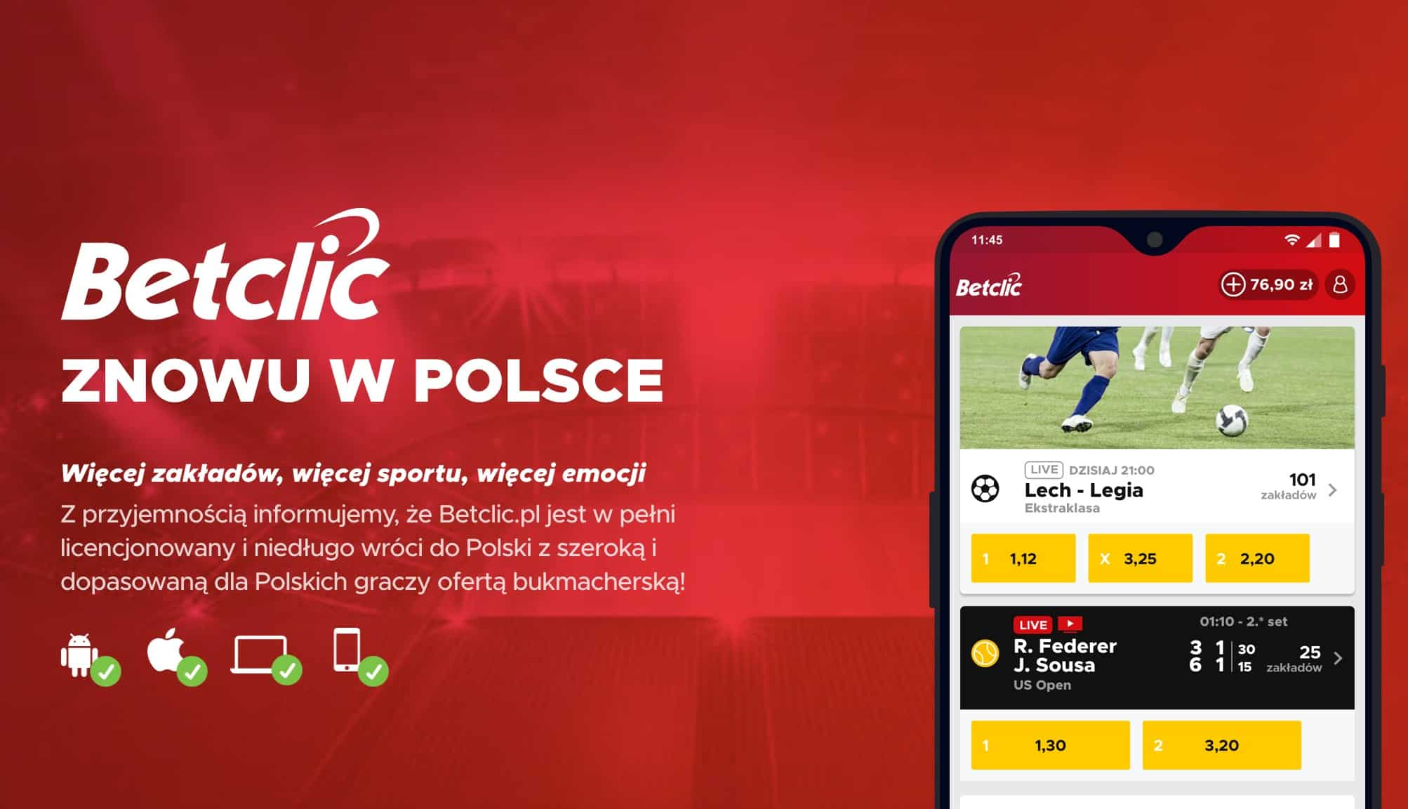 Polska strona BetClic
