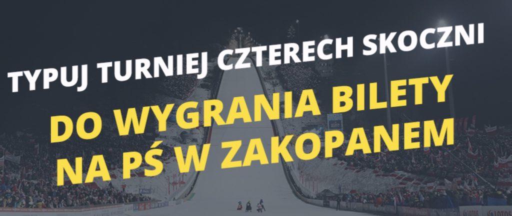 Fortuna konkurs na skoki. Wygraj bilety na PŚ Zakopane 2019!