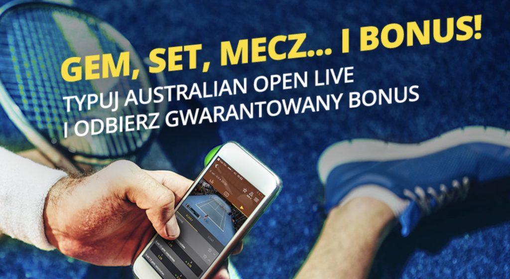 20 PLN od Fortuny na Australian Open 2019!