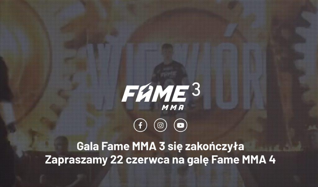 FAME MMA 4 Zakłady Bukmacherskie. Typowanie online