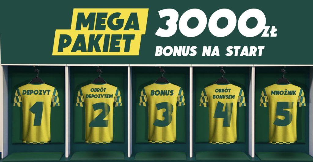 Największy bonus powitalny w Polsce. Betfan daje 3000 zł!