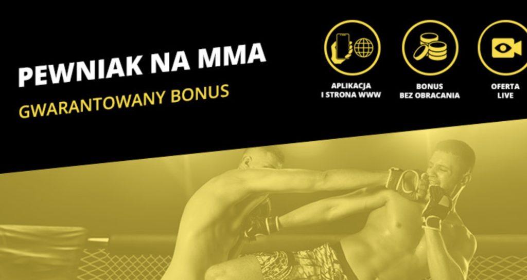 Pewniak MMA od Fortuny - 20 PLN jako bonus bukmacherski!