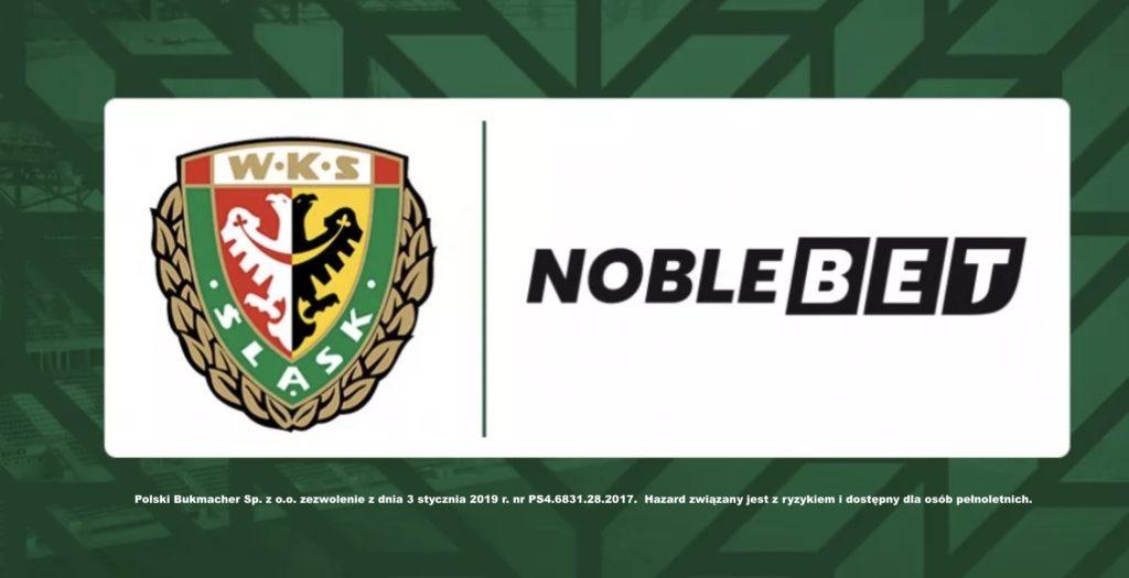 Noblebet sponsorem Śląska Wrocław